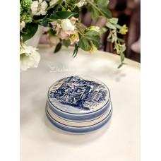 DELFT BLUE keramikos, rankomis tapyta dėžutė