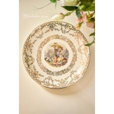 BAREUTHER bavariško porceliano lėkštė