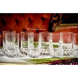 KRIŠTOLO stiklinės, 11 vnt.
