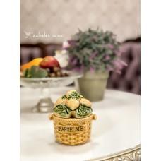 PRANCŪZIŠKOS keramikos indelis džemui, uogienei ir pan.