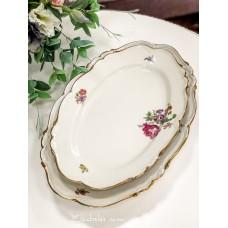 EDELSTEIN MARIA THERESIA kreminio, bavariško porceliano padėklai