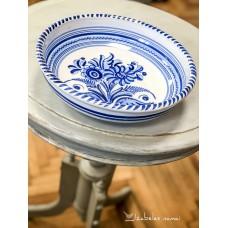 ITALIŠKOS keramikos, rankomis tapytas dubuo