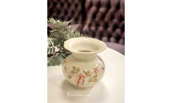 ZEHSCHERZER bavariško, kreminio porceliano vaza