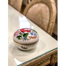 KALOCSA vengriško porceliano, rankomis tapyta dėžutė