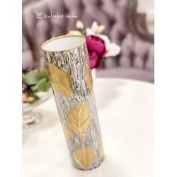 HUTSCHENREUTHER rankomis dekoruota, porceliano vaza