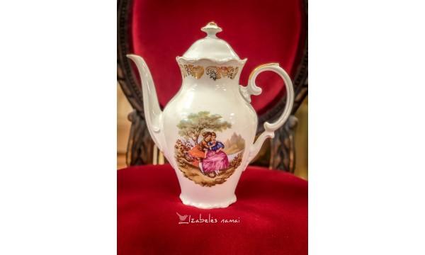 SCHUMANN ARZBERG balto porceliano kavinukas