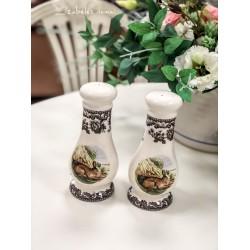 SPODE angliškos keramikos druskinė ir pipirinė
