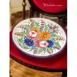 DIDELĖ itališkos keramikos lėkštė