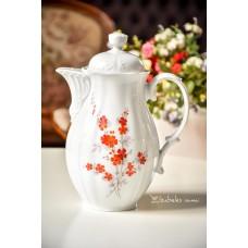 WUNSIEDEL balto, bavariško porceliano kavinukas