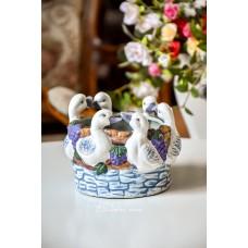 STILIZUOTAS keramikos indas/vazonas