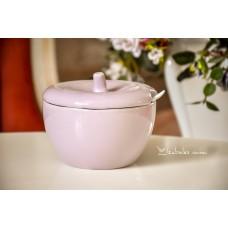 STILIZUOTAS keramikos indas (cukrui, medui, džemui ir pan.)