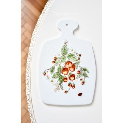 GEROLD-PORZELLAN balto porceliano lentelė, tapyta rankomis