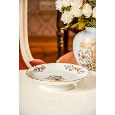 LIDKOPING rankomis tapytas, porceliano dubenėlis ant kojos