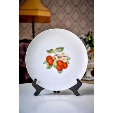 HUTSCHENREUTHER balto porceliano, didelė, serviravimo lėkštė