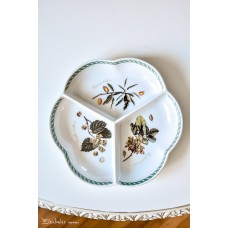 PRANCŪZIŠKO porceliano lėkštė užkandžiams