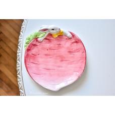 STILIZUOTA keramikos lėkštelė
