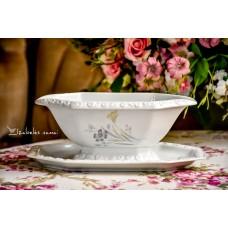 ROSENTHAL balto porceliano padažinė