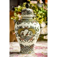VILLEROY&BOCH veidrodinio porceliano vaza su dangčiu