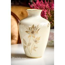 HERTEL JACOB kreminio porceliano vaza