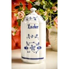 DIDELIS balto porceliano indas cukrui ar kitiems biriems produktams