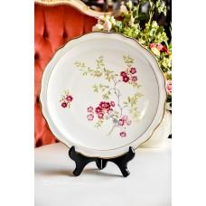 WEIMAR didelė, gili, balto porceliano lėkštė