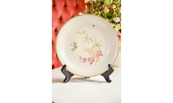 SCHLOTTENHOF didelė, kreminio porceliano lėkštė