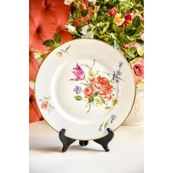 ESCHENBACH rankomis tapyta, balto porceliano lėkštė