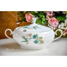 VOHENSTRAUSS baltobavariško porceliano sriubinė