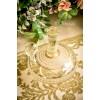 STILIZUOTAS vintažinio stiklo grafinas