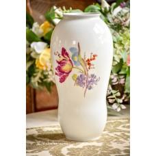 HUTSCHENREUTHER rankomis tapyta, balto porceliano vaza