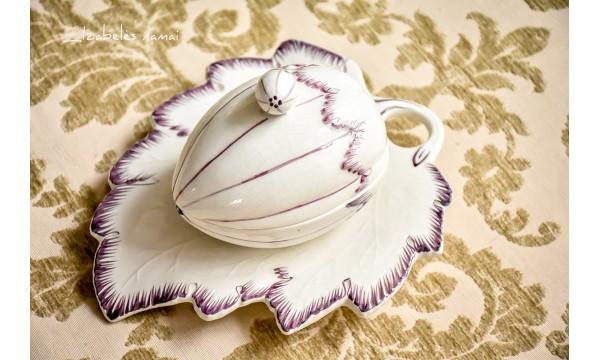 PORTUGALIŠKOS keramikos padažinė / serviravimo indas