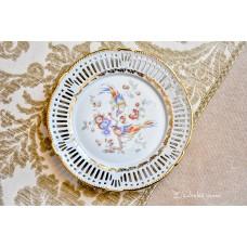 SCHWARZENHAMMER balto porceliano lėkštė