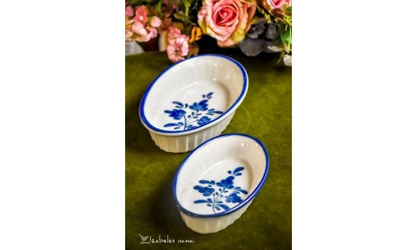 PORTUGALIŠKO porceliano, rankomis tapytos formelės