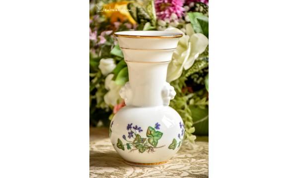 KONIGL PR. TETTAU balto vokiško porceliano vaza