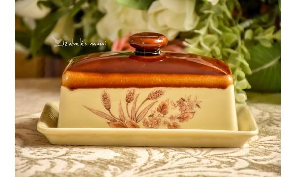 JAPONIŠKOS keramikos sviestinė