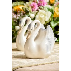 TENGRA ispaniško porceliano vaza - gulbė