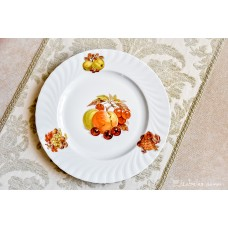 SELTMANN WEIDEN balto porceliano, didelė lėkštė