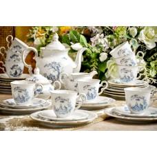 BAVARIŠKO porceliano puodelių komplektas 10 asmenų