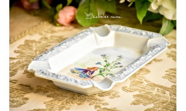 ROSENTHAL rankomis tapyta, porceliano peleninė - cigarinė
