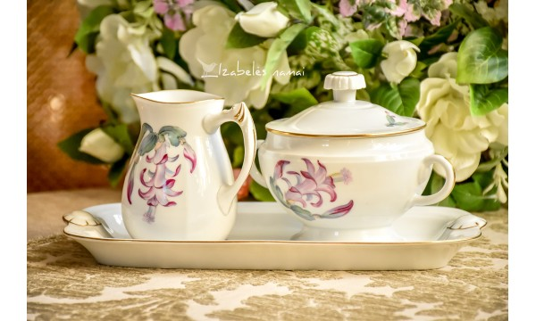 KJOBENHAVN balto daniško porceliano serviravimo komplektas