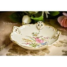 ROSENTHAL MOLIERE kreminio porceliano lėkštelė