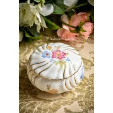 BAREUTHER balto bavariško porceliano dėžutė