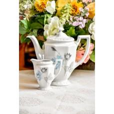 ROSENTHAL MARIA balto porceliano virdulys ir pieninukas