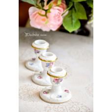 ROSENTHAL SANSSOUCI balto porceliano žvakidėlės